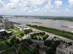 Blick vom Louisiana Regierungsgebäude