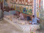 Alabaster-Handwerksstätte