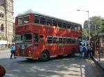 Doppelstockbus in Mumbai