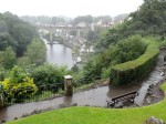 Knaresborough im Regenguss