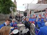 Straßenfest in Jedburgh