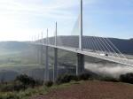 Millau-Viadukt von oben