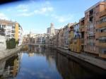 Girona am Fluss Onyar