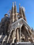 """""""Rückseite"""" der Sagrada Familia"""