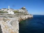 am Südende von Gibraltar