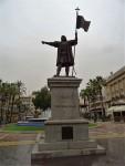 Kolumbus-Denkmal in der Altstadt